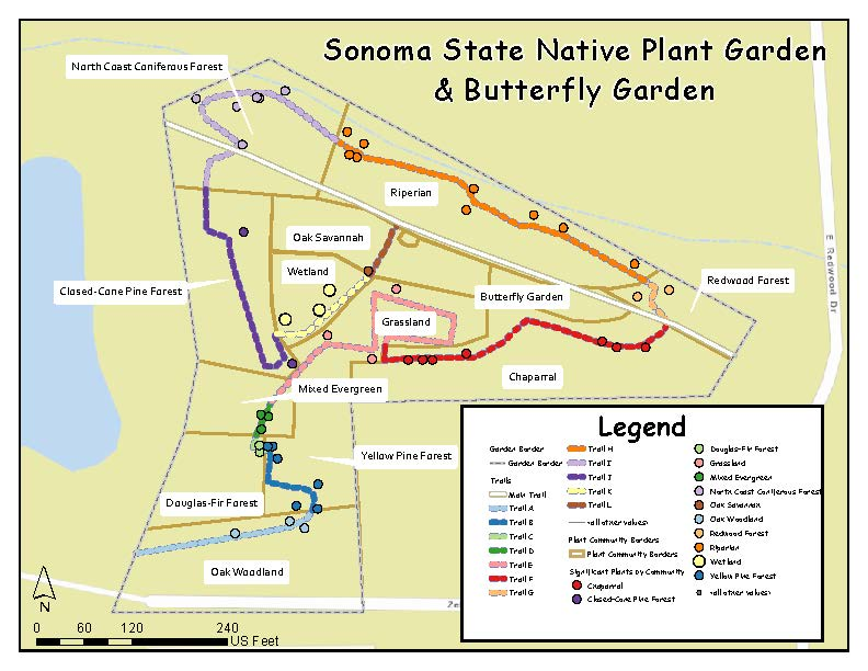 Native Plant & Butterfly Garden map